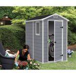keter  Keter Abri de jardin en résine 2,5m² Premium 46 S gris clair + plancher... par LeGuide.com Publicité