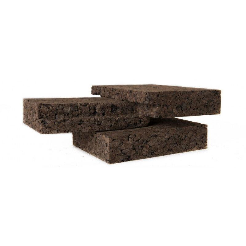 Coussin rectangulaire en peau de vache noir et blanc