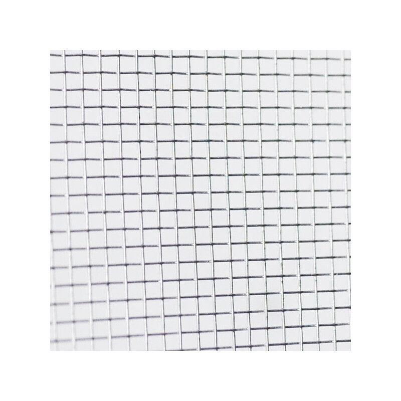 Phif Toile moustiquaire à mailles fines en aluminium largeur 150 cm