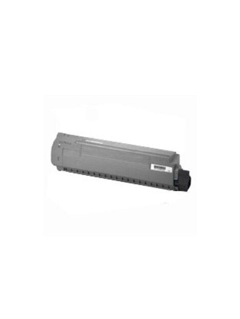 Cartouche toner C810/C830 compatible pour Oki Coloris - Noir