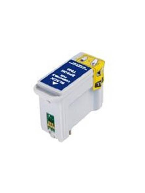 Cartouche d'encre T040 compatible pour Epson Stylus Coloris - Noir
