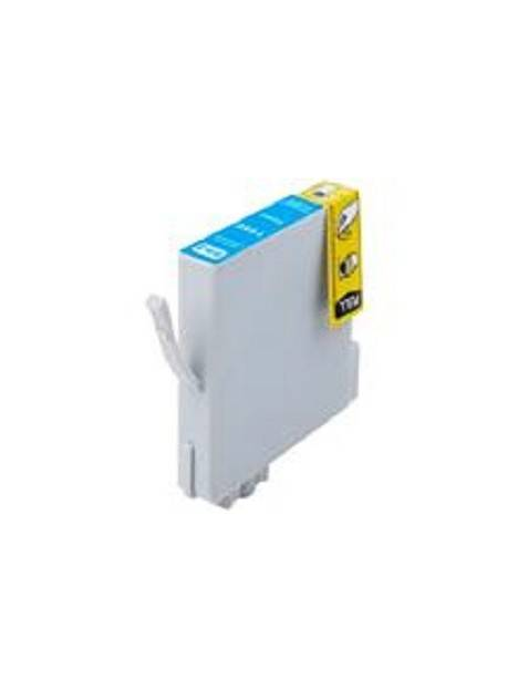 Cartouche d'encre T0591 compatible pour Epson Coloris - Cyan