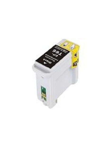 Cartouche d'encre T066 compatible pour Epson Coloris - Noir