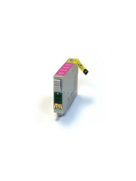 Cartouche d'encre T0801 compatible pour Epson Coloris - Magenta clair
