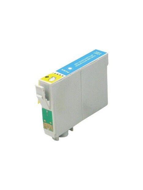 Cartouche d'encre T2431/T2421 compatible pour Epson Coloris - Cyan clair