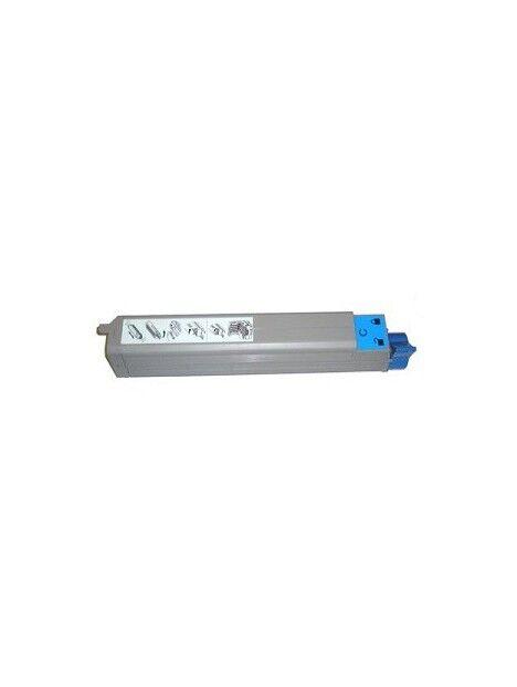 Cartouche toner C9600/C9650/C9800/C9850 compatible pour Oki Coloris - Cyan