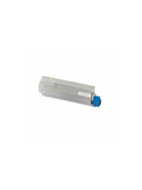Cartouche toner C8600/C8800 compatible pour Oki Coloris - Noir
