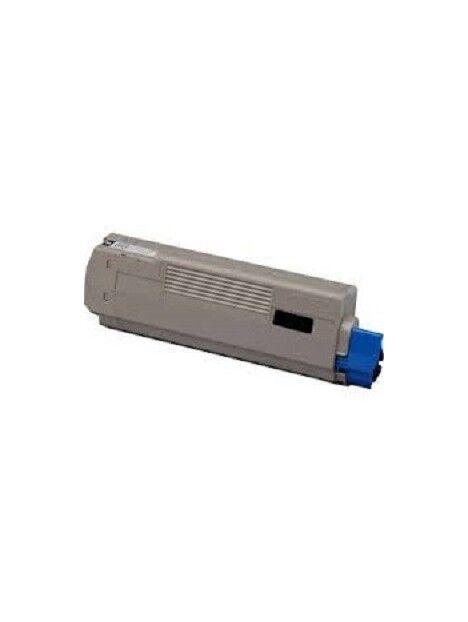 Cartouche toner C610 compatible pour Oki Coloris - Noir