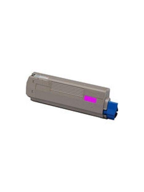 Cartouche toner C610 compatible pour Oki Coloris - Magenta
