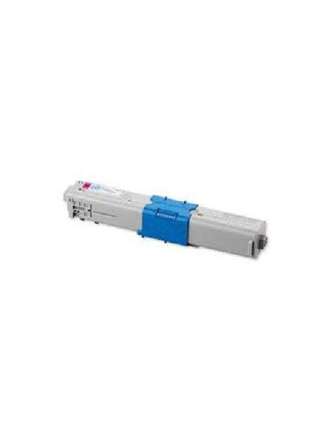 Cartouche toner C510/C530/MC561 compatible pour Oki Coloris - Magenta