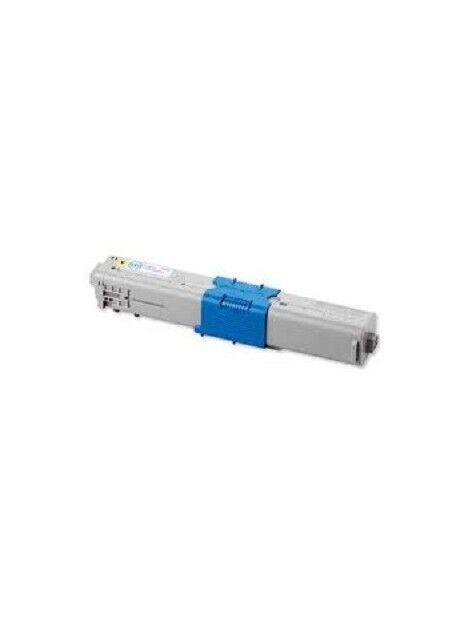 Cartouche toner C510/C530/MC561 compatible pour Oki Coloris - Jaune