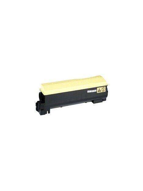 Cartouche toner TK-550 compatible pour Kyocera Coloris - Jaune