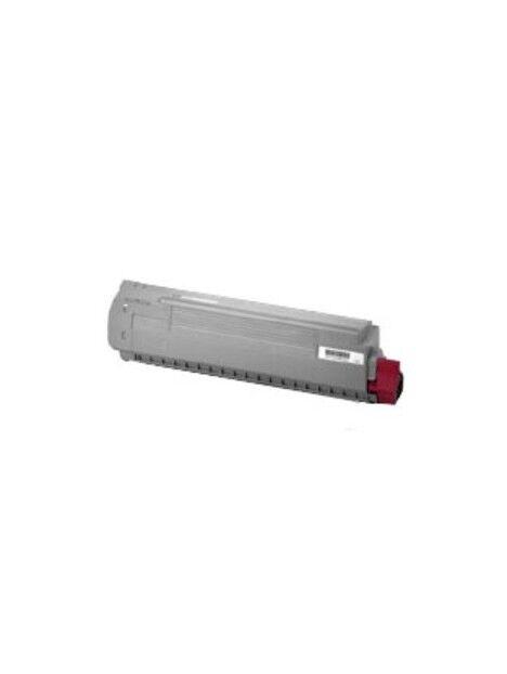 Cartouche toner C810/C830 compatible pour Oki Coloris - Magenta