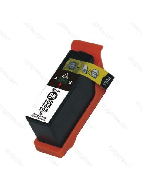 Cartouche d'encre compatible 100XL pour Lexmark Coloris - Noir