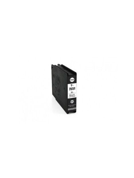 Cartouche d'encre T7551/T7561 compatible pour Epson Coloris - Noir