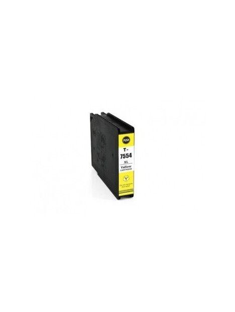 Cartouche d'encre T7551/T7561 compatible pour Epson Coloris - Jaune