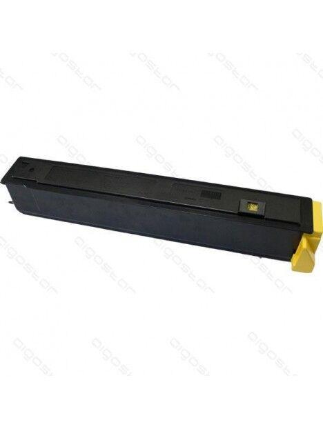 Cartouche toner TK-810/TK-811 compatible pour Kyocera Coloris - Jaune