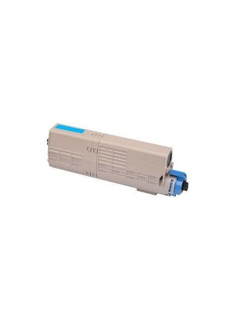 Cartouche toner C532DN/C542DN/MC573DN/MC563DN compatible pour Oki Coloris - Cyan
