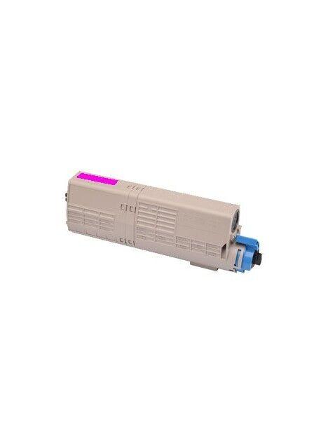 Cartouche toner C532DN/C542DN/MC573DN/MC563DN compatible pour Oki Coloris - Magenta