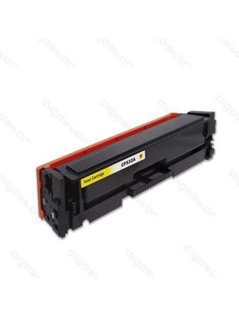 Cartouche toner CF530A générique pour HP Coloris - Jaune
