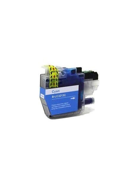 Cartouche d'encre LC3213 / LC3211 compatible pour Brother Coloris - Cyan