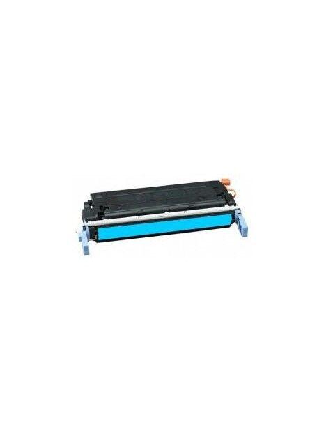 Cartouche toner C9720A générique pour HP Coloris - Cyan