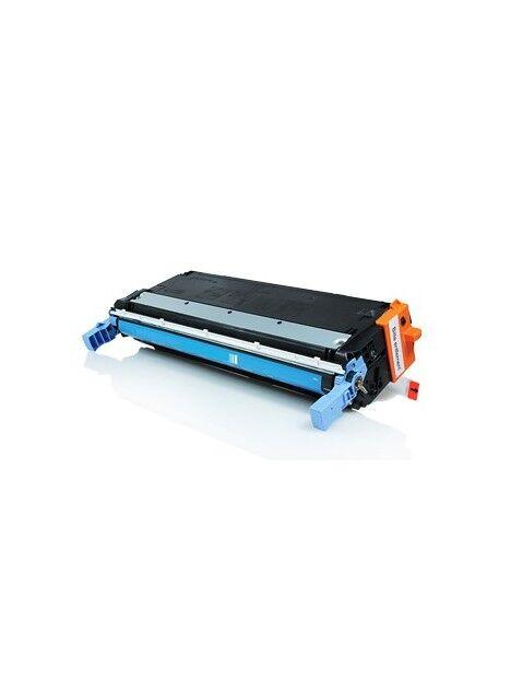 Cartouche toner C9730A générique pour HP Coloris - Cyan