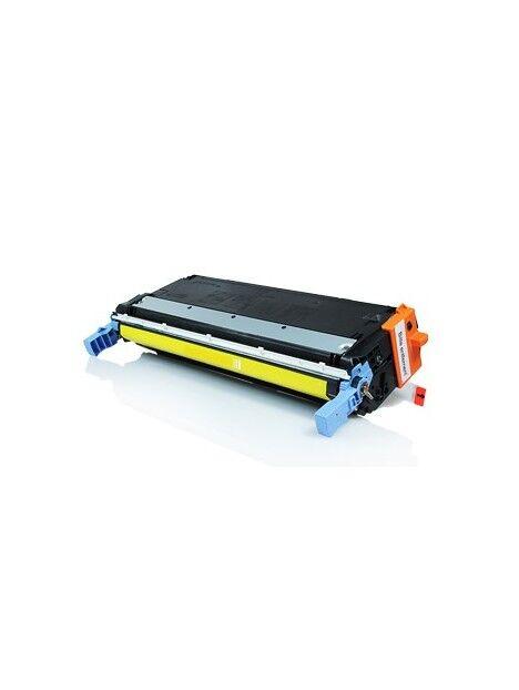 Cartouche toner C9730A générique pour HP Coloris - Jaune