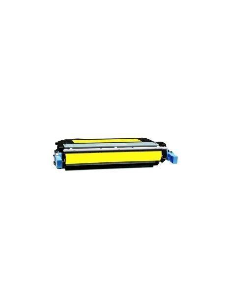 Cartouche toner CB400A générique pour HP Coloris - Jaune