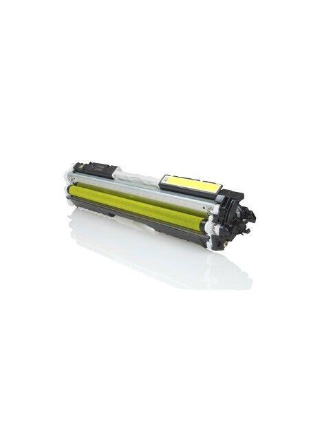 Cartouche toner CE310A générique pour HP Coloris - Jaune