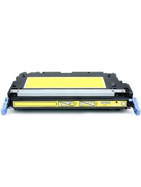 Cartouche toner Q6470A générique pour HP Coloris - Jaune