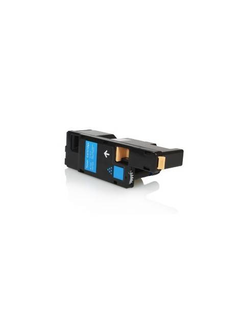 Cartouche toner 1250/1350/1355/C1760 compatible pour Dell Coloris - Cyan