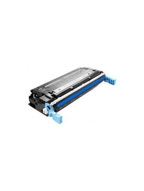 Cartouche toner Q6460A générique pour HP Coloris - Cyan