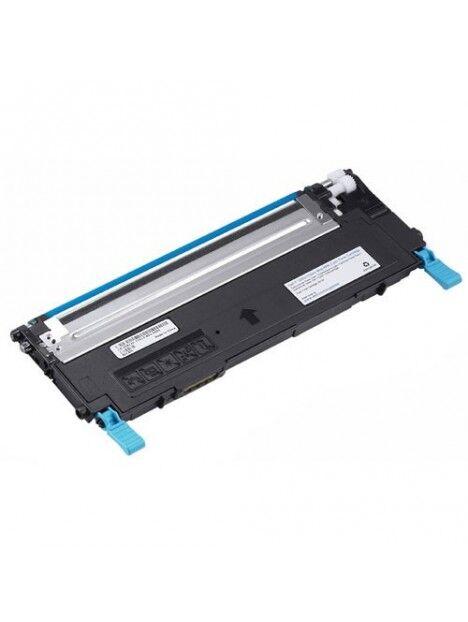 Cartouche toner 1230/1235 compatible pour Dell Coloris - Cyan