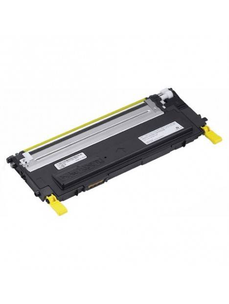 Cartouche toner 1230/1235 compatible pour Dell Coloris - Jaune