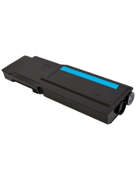 Cartouche toner S3840/S3845 compatible pour Dell Coloris - Cyan