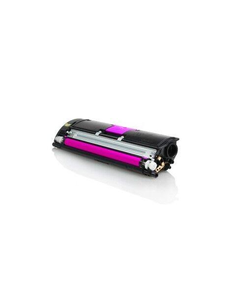 Cartouche toner Magicolor 2400W/2500W compatible pour Konica Minolta Coloris - Magenta