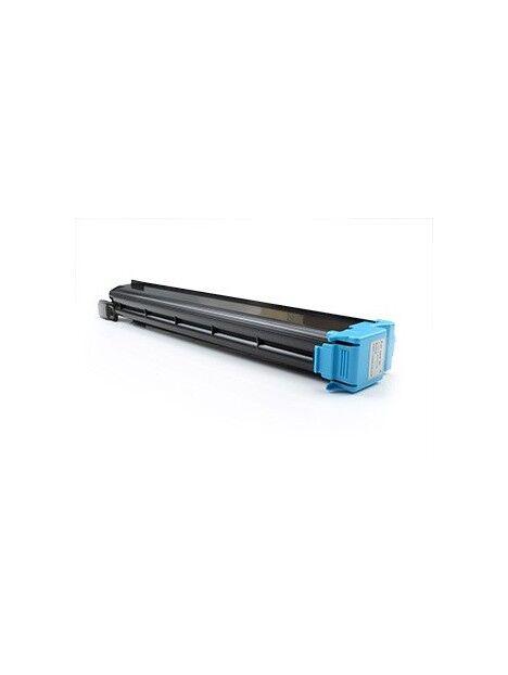 Cartouche toner C451/C550/C650 compatible pour Konica Minolta Coloris - Cyan