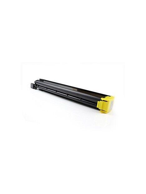 Cartouche toner C451/C550/C650 compatible pour Konica Minolta Coloris - Jaune