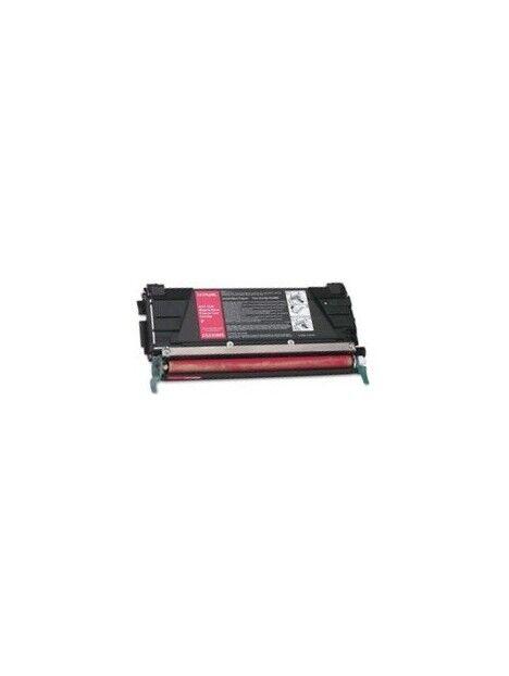 Cartouche toner C734/C736/X738 compatible pour Lexmark Coloris - Magenta