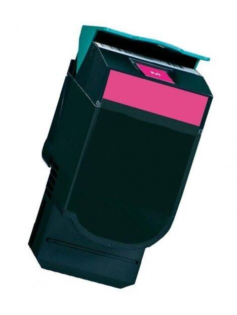 Cartouche toner CX310/CX410/CX510 compatible pour Lexmark Coloris - Magenta