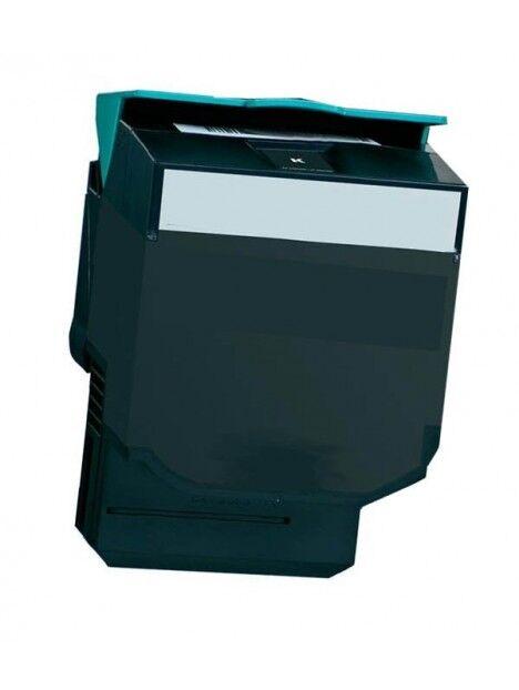 Cartouche toner CX410/CX510 compatible pour Lexmark Coloris - Noir