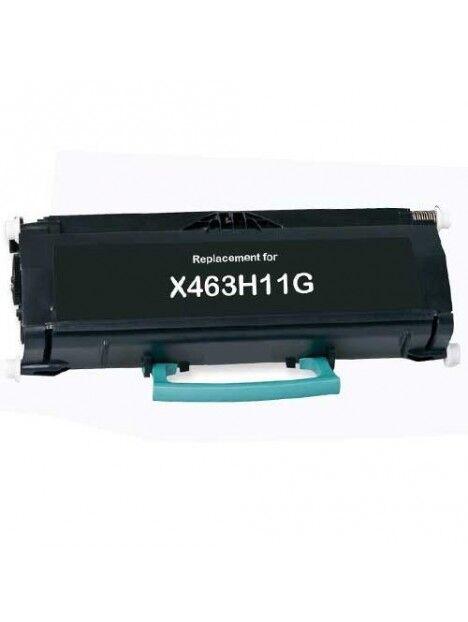 Cartouche toner X463/X466 compatible pour Lexmark