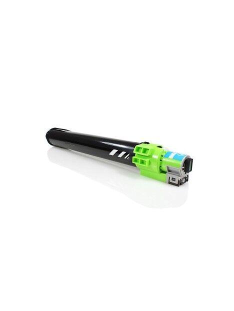 Cartouche toner Aficio MP-C2800/MP-C3300 compatible pour Ricoh Coloris - Cyan