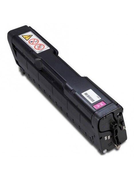 Cartouche toner Aficio SP-C252DN/SP-C252SF compatible pour Ricoh Coloris - Magenta