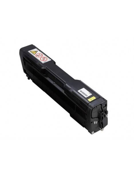 Cartouche toner Aficio SP-C252DN/SP-C252SF compatible pour Ricoh Coloris - Jaune