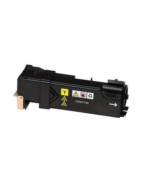 Cartouche toner PHASER 6500 compatible pour Xerox Coloris - Jaune