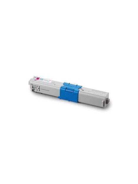 Cartouche toner C301DN/C321DN/MC342DN compatible pour Oki Coloris - Magenta