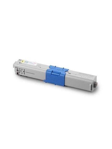 Cartouche toner C301DN/C321DN/MC342DN compatible pour Oki Coloris - Jaune