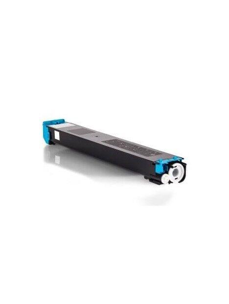 Cartouche toner MX23 compatible pour Sharp Coloris - Cyan